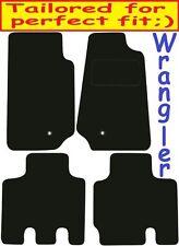 JEEP Wrangler 4dr Deluxe Su Misura Qualità Tappetini Auto 2007-2016
