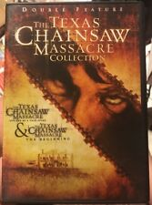 The Texas Chainsaw Massacre Collection: Double Feature USED DVD Rare VHTF OOP