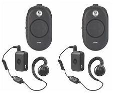 2 Motorola Clp1060 Uhf Business Two-Way Radios.
