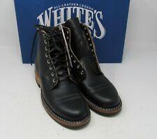 """Whites Boots. MP360-D, Black horse hide , 7 D, 6"""",  Dainite sole."""