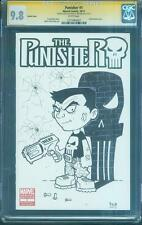 Punisher 1 CGC SS 9.8 Sketch Variant Ryan Browne Original art Daredevil TV Show