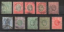 Somaliland Protectorate 1905-11 values to 2 1/2a FU/U