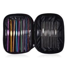 22 crochet dans sac 0.6 - 6.5mm aiguilles à tricoter mercerie tricot laine coton
