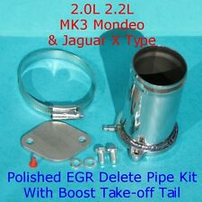 EGR Delete Kit Ford Mondeo MK3 2.0 2.2 TDCi ST2.2 Jaguar X Type With Boost Tail
