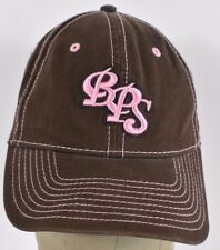 Brown BPS Bass Pro Shop Girls Est 1972 Embroidered Baseball hat cap adjustable