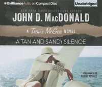A Tan and Sandy Silence by John D MacDonald: New Audiobook