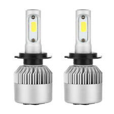 2 Piece Vehicle H7 72W 7200LM COB LED Headlight Bulbs with COB Chips White