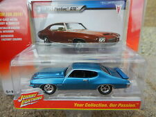 2016 Johnny Lightning *MUSCLE CARS USA R1B* Blue 1971 Pontiac GTO *NIP!*