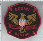 Boston Fire Department (Massachusetts) Engine 3 Shoulder Patch