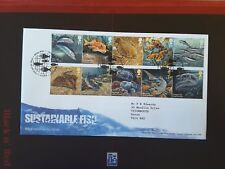 GB 2014 Stamps SUSTAINABLE FISH First Day Cover TALLENTS HOUSE Pmk