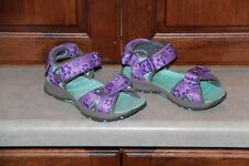 Toddler Girl Merrell Purple and Teal Surf Strap Sandals 2.0 size 10m