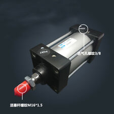 SC80-1000 Bore: 80mm Stroke: 1000mm Single Thread Rod Dual Action Air Cylinder