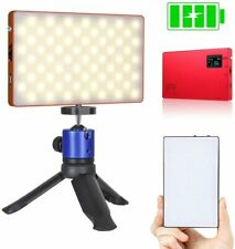 Chargeable Bicolor LED Video Light, USB Port Lithium Battery 4040mAh with Mini