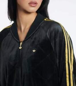 adidas Women's Originals Monogram TrackSuit In Velvet (Jacket & Pant)