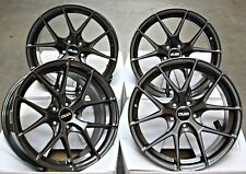 """ALLOY WHEELS 18"""" CRUIZE GTO GM FIT FOR AUDI A4 S4 RS4 B5 B6 B7 B8"""
