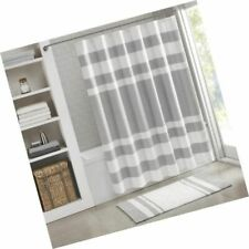 Spa Waffle Shower Curtain With 3m Treatment by Madison Park