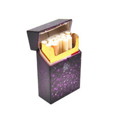 HORNET Ice Crack Shape Plastic Cigarette Case Cover  For Hard Tobacco Box-Purple