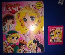 Album Stickers Manga TV Anime 80 Kyandi, Sweet Candy Candy, used complete -PERU