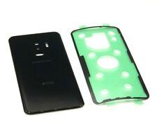 Original Samsung Galaxy S9+ Plus Duos Akkudeckel Backcover Deckel Schwarz Kleber