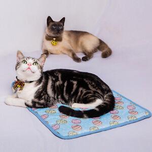 Pet Cooling Mat Cat Dog Cushion Pad Summer Cool Down Comfortable Soft for Pet#VJ