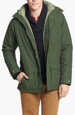 Patagonia Men's Isthmus Fleece Lined Parka Jacket Industrial Green XL