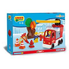 Unico Plus - Camion dei pompieri - Costruzioni compatibili Lego Duplo