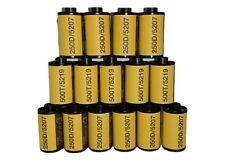Kodak Vision3 500T/5219 & 250D/5207 35m roll film 36 exp TOTAL 15 Rolls!!