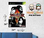 Soul Calibur 2 XBox Cover Box Art Wall Poster 11x17-24x36