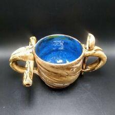 Wake and Bake Mug  Blue Chalice Handmade