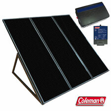 COLEMAN SUNFORCE 55 W SOLAR POWER PANEL CHARGING KIT WITH 300 WATT INVERTER
