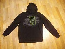 Monster Energy Hoodie Men's Black Size L