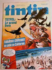 Journal Tintin BD Comics Magazine Hebdo No 33 36e 1981 Tetfol: Le Grand Livre