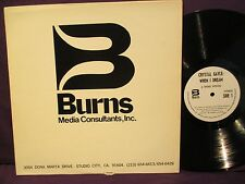 Burns Media Consultants Crystal Gale WHEN I DREAM LP