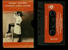 Gloria Gaynor Experience Gloria Gaynor USA Cassette Tape Slipcase