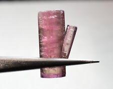 Tourmaline bicolore terminée 9,59 carats  Natural terminated bicolor tourmaline