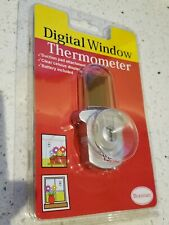 Brannan Digital Window Thermometer Temperature Gauge Celsius Only! Traceable