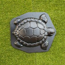 *Turtle* Concrete Plaster Mold Stepping Stone Cement Mould Tortoise Garden Path