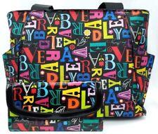 Vera Bradley From A to Vera Bradley Vinyl Handbag Tote Wallet Frill Large