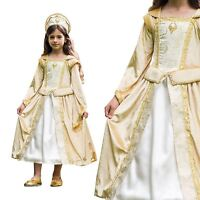 Regal Countess Tudor Medieval Princess Book Week Deluxe Fancy Dress Costume Veil