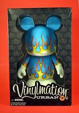 """Disney Vinylmation 9"""" Urban 4 Blue Flames New In Box NIB LE 600"""