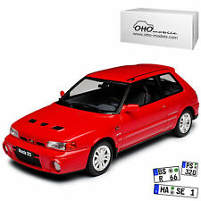 MAZDA 323 GTR 1992 RED OTTO OT255 1/18 RESINE ROUGE ROSSO ROT 999 PIECES