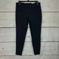 Style & Co Petite Seamed Ponte Mid Rise Pull-On Womens PL Blue Legging Pants NWT