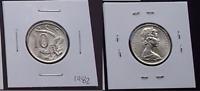 1982 Australian 10 Cents BU UNC Lyrebird Coin - Ex RAM Mint Roll - Gem (HE158)