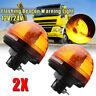 2x Emergenza Lampeggiante Led Rotante Faro Strobo 12/24v Per Trattore Camion