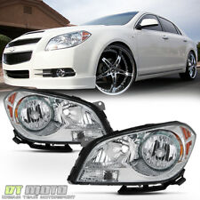 2008-2012 Chevy Malibu Headlights Factory Style Headlamps Replacement Left+Right