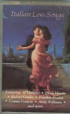 ITALIAN LOVE SONGS - VARIOUS ARTISTS - CASSETTE - NEW - DEAN MARTIN / AL MARTINO