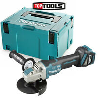 Makita DGA519 18V 125mm Brushless X-Lock Angle Grinder With 821551-8 Type 3 Case
