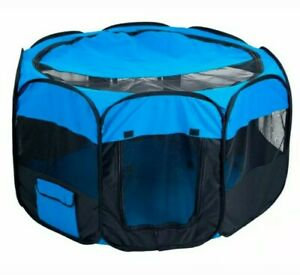 Dog Playpen, Puppy, Portable, Indoor, Pop Up Pen, Fabric Soft-Sided PAW 80-D120H