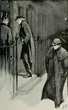 "Sherlock Holmes uno scandalo in Boemia Buonanotte, signor Holmes SIDNEY Paget 7x5"" Print"