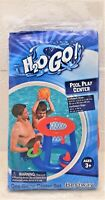 Swimming Pool Inflatable Kids Play Game Center (Basketball + Rings) Water Toy